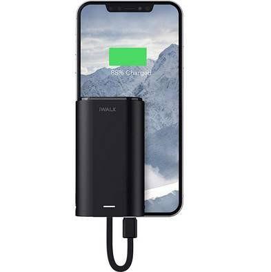 iWALK Mini Powerbank mit Lightning Kabel & 9.000mAh für 14,99€ (statt 25€)