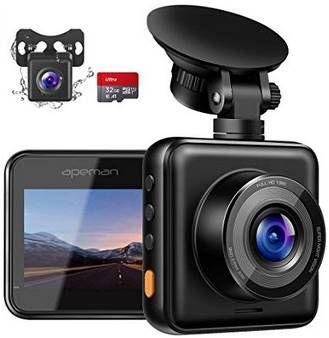 APEMAN C420D   1080p Dashcam inkl. 32GB SD Karte & Rückkamera für 33,99€ (statt 50€)