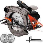 TACKLIFE PES01A 1500W Handkreissäge mit Laser & Absaugadapter für 39,98€ (statt 57€)