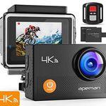 APEMAN A77 – 4K Actioncam mit 170° Weitwinkel für 36,99€ (statt 50€)