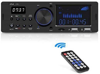 ieGeek K302   Autoradio mit Bluetooth, USB, RDS & mehr für 20,79€ (statt 25€)