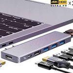 ANWIKE 8 in 1 USB C Hub für 39,99€ (statt 70€)