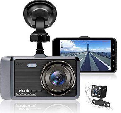 Abask D01   1080p Dashcam mit 170° Weitwinkel & vielen Extras für 26,59€ (statt 47€)