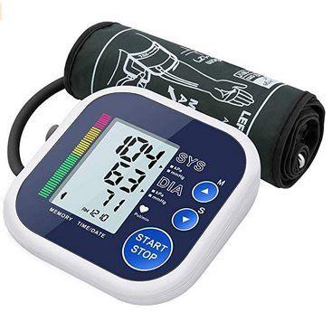 Oberarm Blutdruckmessgerät mit Arrhythmie Erkennung für 18,89€ (statt 27€)