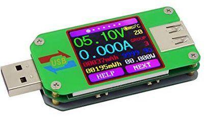 USB Spannungs /Strom Tester auch mit BT ab 10,79€   Prime