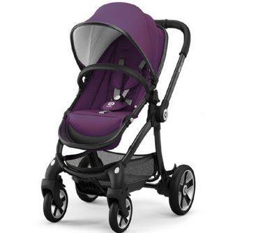 Kiddy Kinderwagen / Buggy Evostar 1 Royal in Purple für 139,95€ (statt 276€)