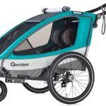 Qeridoo Kinderfahrradanhänger Sportrex 2 (2019) für 306,94€ (statt 356€)
