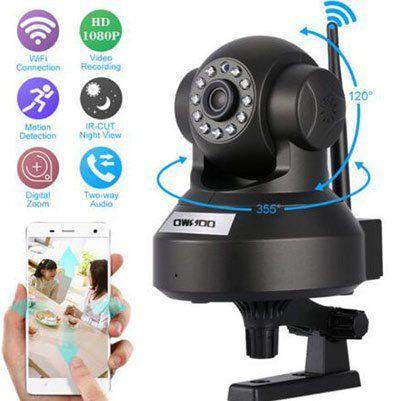 OWSOO 1080p IP Cam mit 2MP inkl. Nachtsicht & mehr für 17,59€   aus DE