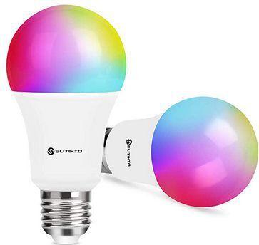 2erPack: WLAN 10W LED RGB Glühbirne mit App Anbindung & Alexa/Google Support für 14,94€ – Prime