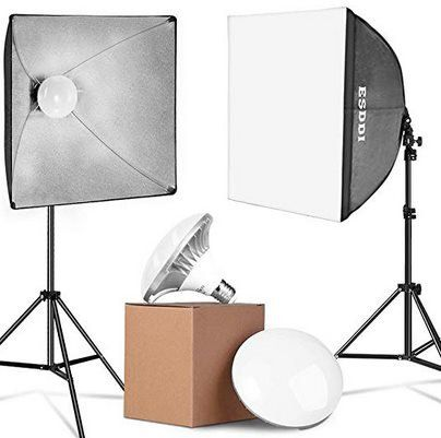 ESDDI PS070 LED Softboxen Set inkl. Leuchtmittel für 39,89€ (statt 70€)
