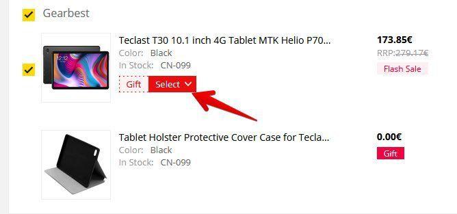 Teclast T30   10,1 Zoll Tablet mit 64/4GB & Android 9 für 172,72€ + gratis Hülle/Ständer
