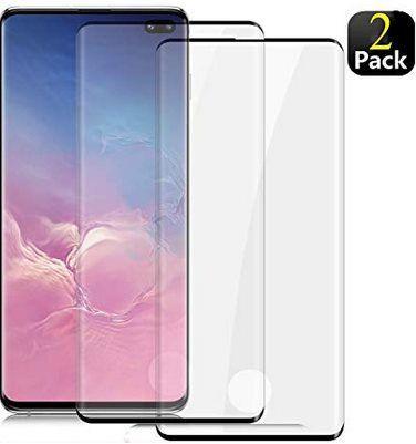 2er Pack: Samsung Galaxy S10 Plus Panzerglas Schutzfolie für 7,20€   Prime