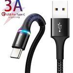 Baseus USB-C Kabel 1 oder 2m ab 3,99€ – Prime
