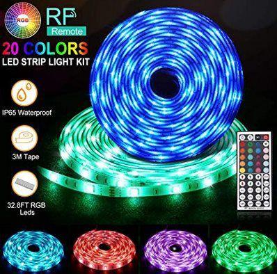 2x 5M RGB SMD 5050 LED Streifen inkl. Fernbedienung für 19,71€ (statt 29€)