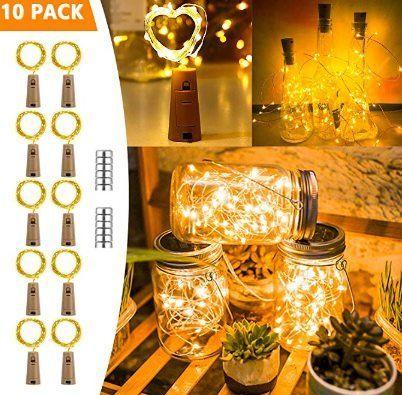 10er Pack: LED Deko Flaschenlicht für 7,69€   Prime