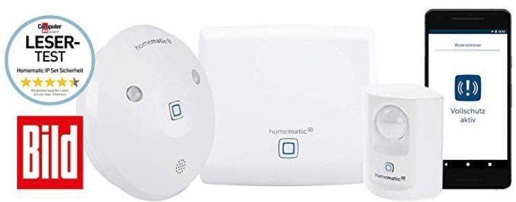 Homematic IP Starter Kit Sicherheit mit Bewegungsmelder & Alarm für 79,95€ (statt 99€)