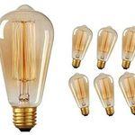 6er Pack: Edison Vintage 40W E27 Glühbirne für 11,87€
