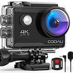 COOAU 4K/30fps Action Cam mit EIS & Fernbedienung für 45,49€ (statt 70€)