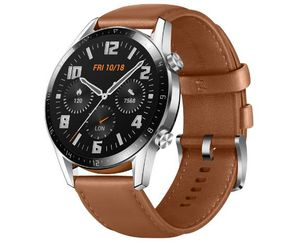 HUAWEI Watch GT 2 (46mm) mit AMOLED Display & GPS + InEar Kopfhörer FreeLace CM70 C ab 189€ (statt 297€)