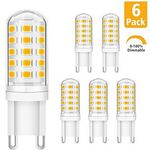 KINGSO 6er Pack LED Lampen Sockel G9 mit je 5W für 11,19€ (statt 16€)