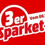 Media Markt 3er Sparpaket ausgewählte Küchen- u. Haushaltsgeräte ab 499€ mit 100€ Sofortrabatt +VSK frei