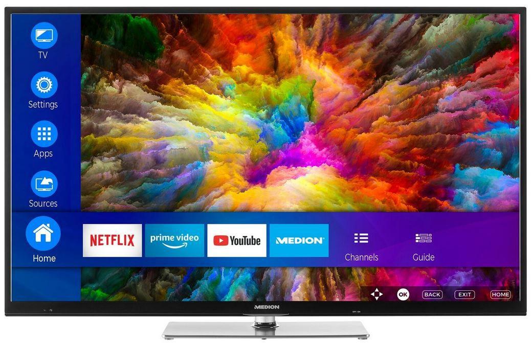 Medion X14305   43 Zoll UHD TV  für 279,99€ (statt 356€)