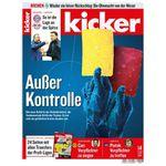 13 Ausgaben vom Kicker für 71,50€ – Prämie: 75€ BC-Gutschein
