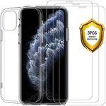 iPhone 11 Pro Schutzhülle & 3 Panzergläser für 4,49€ – Prime