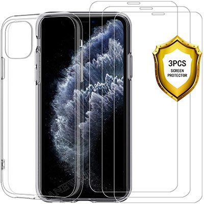 iPhone 11 Pro Schutzhülle & 3 Panzergläser für 4,49€   Prime