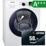 Samsung WW90K44205W Waschmaschine (9kg, A+++) für 499€ (statt 547€) + 50€ Saturn-Gutschein