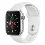 Apple Watch Series 5 GPS & Cellular 40mm in Silber für 489,90€