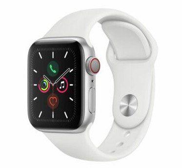 Apple Watch Series 5 GPS & Cellular 40mm in Silber für 489,90€