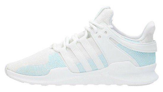 adidas EQT Support ADV Herren Sneaker in Weiß/Hellblau für 49,99€   wenig Größen