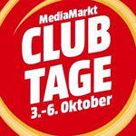 Media Markt Club Tage mit exklusiven Rabatten bis Mitternacht