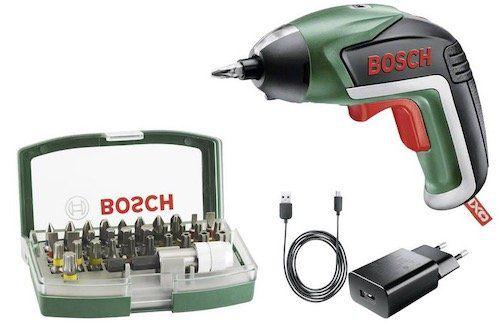 Bosch IXO V Akku Schrauber inkl. Zubehör für 28€ (statt 43€)