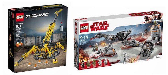 🔥 Lego Bestpreise bei Galeria dank 15€ Gutschein   z.B. LEGO Star Wars Defense of Crait (75202) ab 39,99€ (statt 66€)