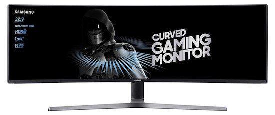 Samsung C49HG90   49 Zoll curved UHD Monitor mit 144 Hz für 668,70€ (statt 749€) + 37€ in Superpunkten