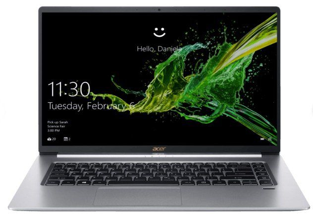 Acer Swift 5 (SF515 51T) Notebook mit Touch Display, i7, 16GB Ram + 512GB SSD ab 994,09€ (statt 1.354€)