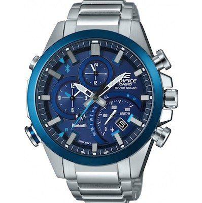 Casio Edifice (EQB 501DB 2AER) Hybrid Smartwatch mit Solar für 143€ (statt 280€)