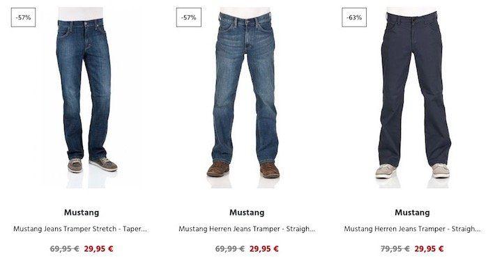 20% Rabatt auf über 800 ausgewählte Jeans   Tommy Jeans, Mustang, Levis uvm.