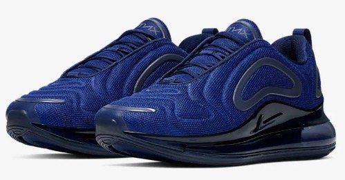 Nike Air Max 720 in Royal Blue für 91,18€ (statt 129€)