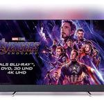 Philips 55PUS8804 – 55 Zoll UHD Fernseher mit 3-seitigem Ambilight für 699€ (statt 849€)
