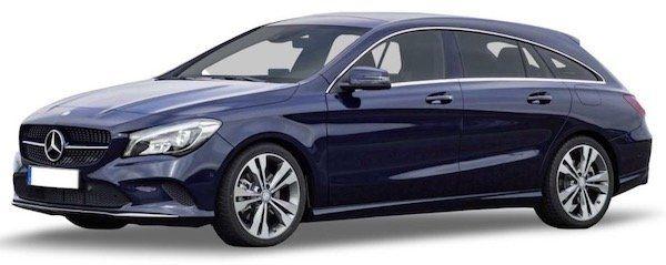 Mercedes CLA 200 Shooting Brake mit 163 PS im Leasing für 350€ mtl. brutto   LF: 0,68