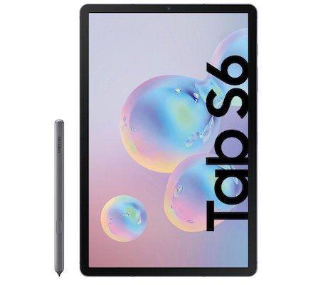 Samsung Galaxy Tab S6 256GB LTE + Book Cover Keyboard EF DT860 für 779€ (statt 936€)
