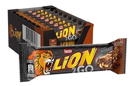 24er Pack Nestlé LION 2GO Schokoriegel mit Erdnüssen ab 8,09€ (statt 12€)
