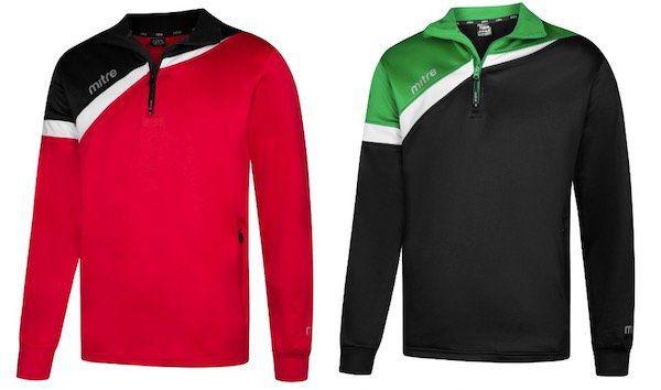 MITRE Polarize 1/4 Zip Trainings Sweatshirt für 8,39€ (statt 13€)