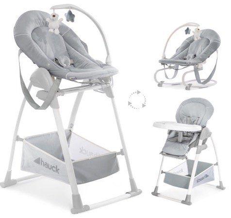 Hauck Sit n Relax Stretch Klapphochstuhl in Grau für 139,99€ (statt 160€)