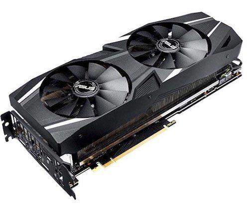 Asus GeForce RTX 2080 Advanced 8GB Grafikkarte für 599,99€ (statt 749€)
