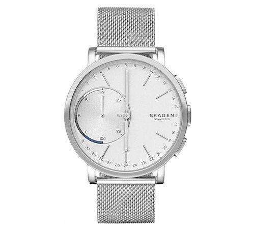 Ausverkauft! Skagen Hagen Connected Hybrid Smartwatch mit Milanaise Armband für 42,50€ (statt 110€)   refurbished