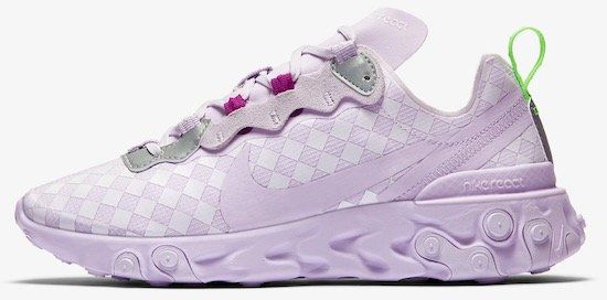 Nike React Element 55 Damen Sneaker für 62,38€ (statt 111€)